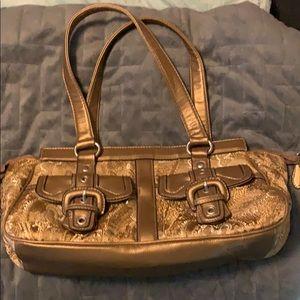 Nine West Gold purse